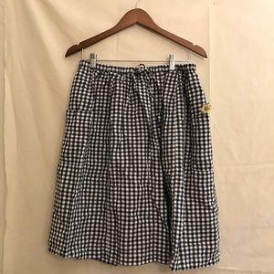 Skirts - Two- tone plaid skirt